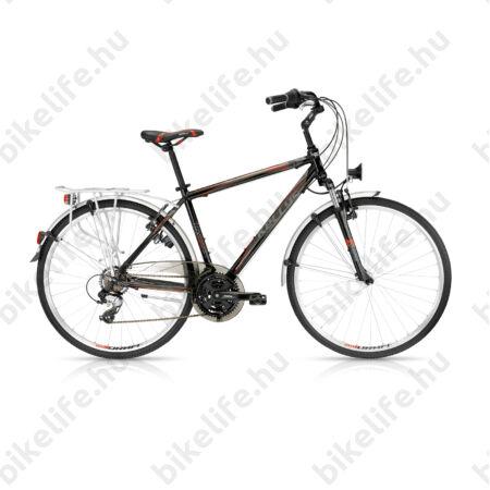 """Kellys Carter 30 2016 férfi trekking kerékpár 21seb. Shimano TX800 váltó, fekete 21"""""""