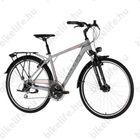 """Kellys Carson 50 Grey férfi trekking kerékpár 24 fokozatú Shimano Acera váltó, V-fék XL/23"""""""