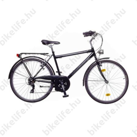 """Neuzer Ravenna 30 férfi trekking kerékpár fekete/szürke 19"""""""