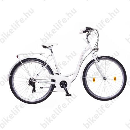 """Neuzer Ravenna 30 női trekking kerékpár fehér/lila 19"""""""