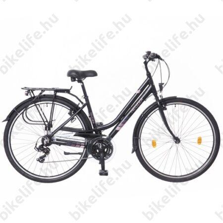 Neuzer Ravenna Acera női trekking kerékpár fehér/lila aluvázas