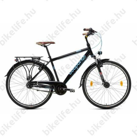 """Csepel Spring 200 férfi trekking kerékpár, alumínium váz, 7 fokozatú Nexus agyváltó, fekete, 21"""""""