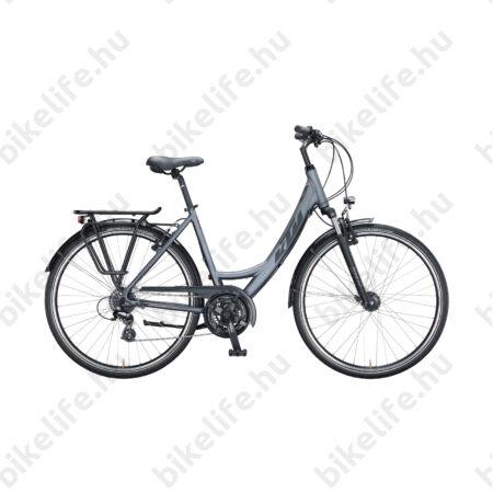 KTM Life Joy női trekking kerékpár 24 fokozatú Shimano Altus váltó, monovázas, V-fék, acél szükre 43cm