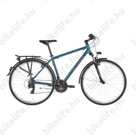 """Alpina ECO T10 Ocean férfi trekking kerékpár 21fok. TY300 váltó, alumínium váz, teleszkóp, 17"""""""