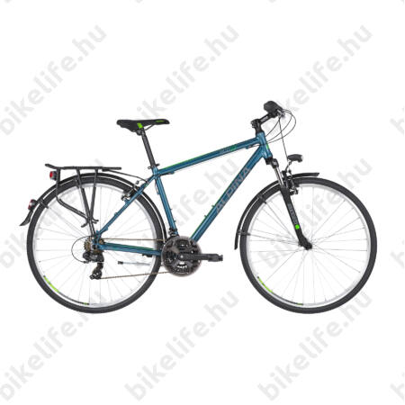 """Alpina ECO T10 Ocean férfi trekking kerékpár 21fok. TY300 váltó, alumínium váz, teleszkóp, 21"""""""