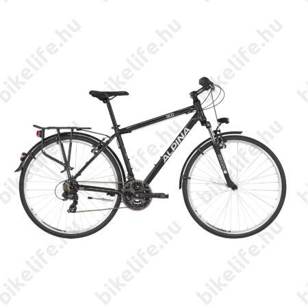 """Alpina ECO T10 Grey férfi trekking kerékpár 21fok. TY300 váltó, alumínium váz, teleszkóp, 17"""""""