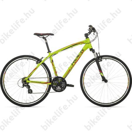 """Rock Machine Crossride 100 2018 ffi cross kerékpár 21 fokozatú TX55 váltó, V-fék, 18"""""""