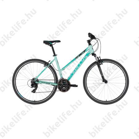 """Kellys Clea 10 Mint női cross kerékpár 21 fokozatú TY300 váltó, V-fék 17"""""""