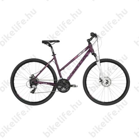 """Kellys Clea 10 2016 női cross kerékpár 21sebességes EF51/TX35 váltó, Grey 19"""""""