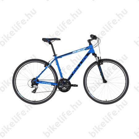 """Kellys Cliff 30 Blue cross kerékpár 24 fokozatú EF510/TX800 váltó, V-fék, 17"""""""