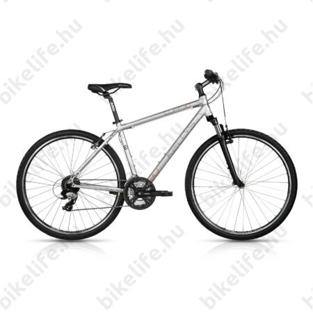 """Kellys Cliff 30 2017 férfi cross kerékpár 24 sebességes TX800 váltó, Silver 19"""""""