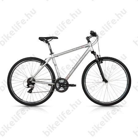 """Kellys Cliff 30 2017 férfi cross kerékpár 24 sebességes TX800 váltó, Silver 21"""""""