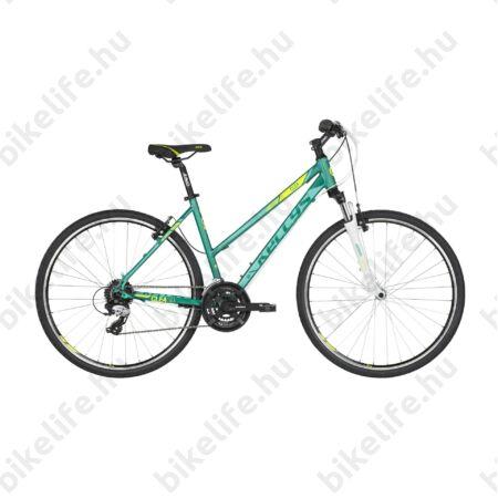 """Kellys Clea 30 Bermuda/Mint 2019 női cross kerékpár 24 fokozatú TX800 váltó, V-fék 19"""""""