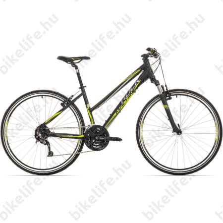 "Rock Machine Crossride 350 2016 női cross kerékpár 27 seb. Shimano Alivio váltó, 17"""