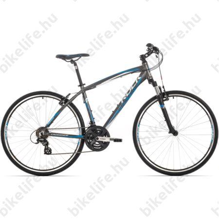 """Rock Machine Crossride 100 2016 férfi cross kerékpár 21 sebességes Altus váltó, V-fék, 18"""""""
