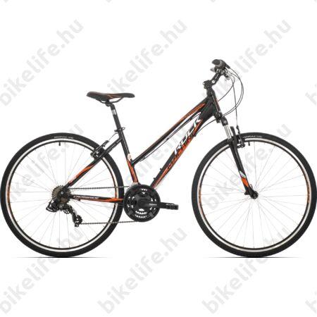 """Rock Machine Crossride 75 2018 női cross kerékpár 21sebességes Shimano TX55 váltó, V-fék, 19"""""""