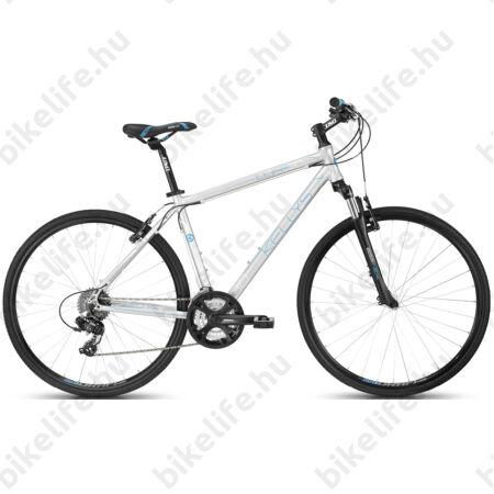 """Kellys Cliff 30 2016 férfi cross kerékpár 24sebességes EF51/Altus váltó, Silver 21"""""""