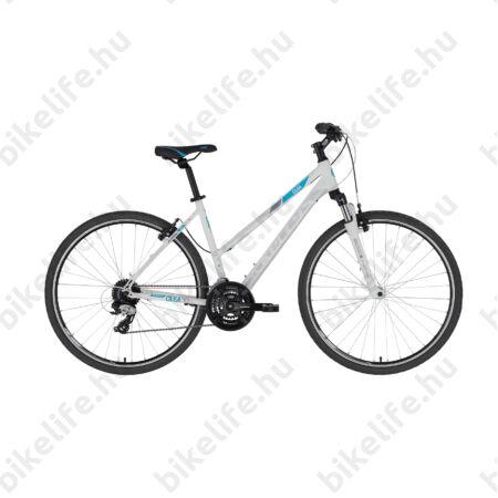 """Kellys Clea 30 női cross kerékpár 24 fokozatú EF51/TX800 váltó, White 19"""""""