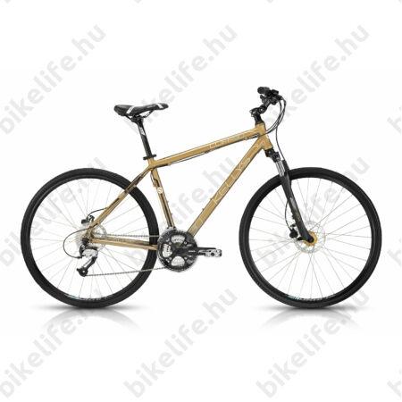 """Kellys Cliff 90 2016 férfi cross kerékpár 27 fokozat Altus váltó,hidraulikus tárcsa, Shadow gold 19"""""""