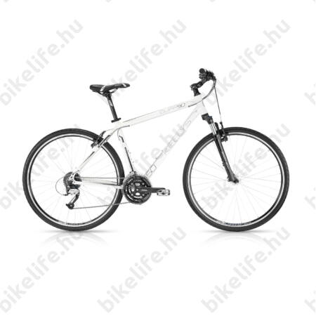 """Kellys Cliff 50 2016 férfi cross kerékpár 24sebességes EF65/Acera váltó, White 19"""""""