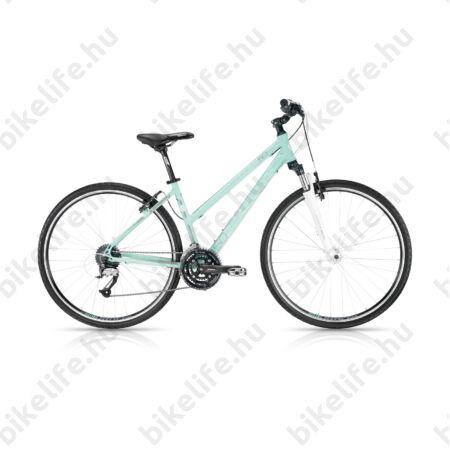 """Kellys Clea 50 2016 női cross kerékpár 24sebességes EF65/Acera váltó, Aqua 17"""""""