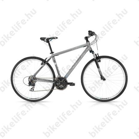 """Kellys Cliff 10 2016 férfi cross kerékpár 21 sebességes EF51/TX35 váltó, Grey 21"""""""