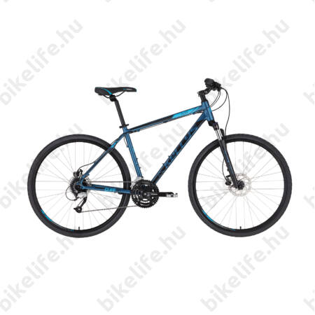"""Kellys Cliff 90 Deep Blue cross kerékpár 24 fok. Altus váltó, hidraulikus tárcsafék, 23"""""""