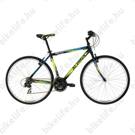 """Alpina ECO C05 férfi cross kerékpár 21 sebességes Shimano TX35/RS35 váltórendszer, Dark-Lime 19"""""""
