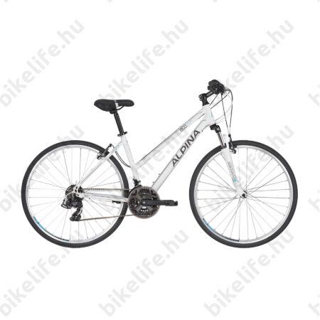 """Alpina ECO LC20 női cross kerékpár 21 fok. Shimano TY500 váltó, alumínium váz, teleszkóp, 16"""""""