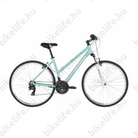 """Alpina ECO LC10 Aqua női cross kerékpár 21 fok. Shimano TY300 váltó, alumínium váz, teleszkóp, 18"""""""