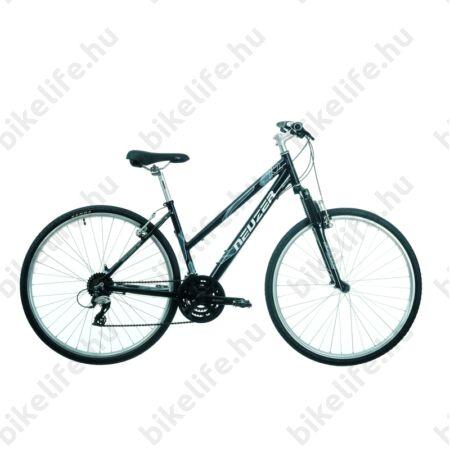 "Neuzer X2 2016-os cross kerékpár, női, Shimano Acera, duplafalú abroncs, fekete/fehér, 19"""