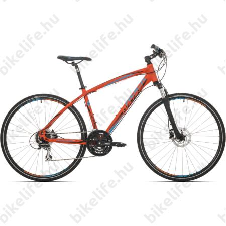 """Rock Machine Crossride 300 2018 férfi cross kerékpár 24 fokozatú Acera váltó, hidraulikus tárcsafék, 18"""""""