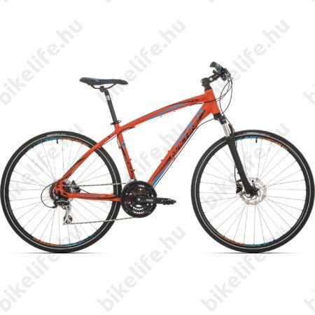 """Rock Machine Crossride 300 2018 férfi cross kerékpár 24 fokozatú Acera váltó, hidraulikus tárcsafék, 20"""""""
