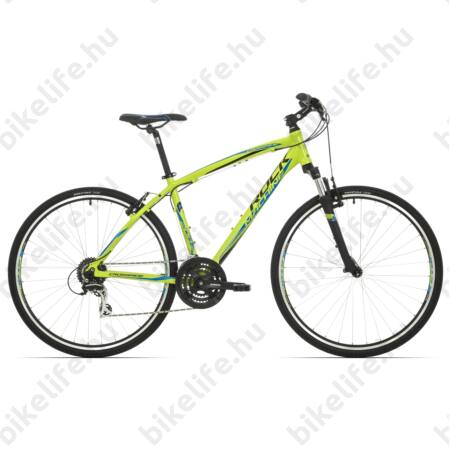 """Rock Machine Crossride 200 2017 férfi cross kerékpár 24seb. Acera váltó, V-fék, 22"""""""