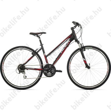 """Rock Machine Crossride 200 2018 női cross kerékpár 24 fokozatú Acera váltó, V-fék, 17"""""""
