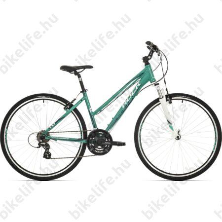 """Rock Machine Crossride 100 2018 női cross kerékpár 21 fokozatú TX55 váltó, V-fék, 19"""""""