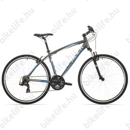 """Rock Machine Crossride 75 2017 cross kerékpár fekete 21sebességes Shimano TX55 váltó, V-fék, 16,5"""""""