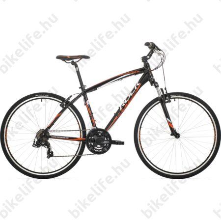 """Rock Machine Crossride 75 2017 cross kerékpár fekete 21sebességes Shimano TX55 váltó, V-fék, 18"""""""