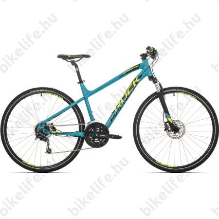 """Rock Machine Crossride 500 2018 férfi cross kerékpár 27 fokozatú Deore váltó, hidraulikus tárcsafék, 22"""""""