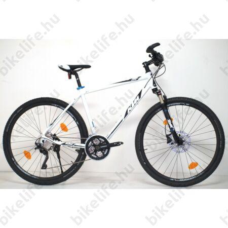 KTM Life Race férfi cross kerékpár 30seb. Deore XT,tárcsafék,levegős teleszkóp, fehér 51cm