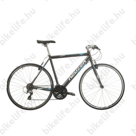 Neuzer Courier fitness kerékpár 21 fokozatú Shimano Acera váltórendszer, antracit/kék 56cm