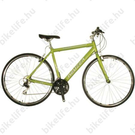 Neuzer Courier fitness kerékpár 21 fokozatú Shimano Acera váltórendszer, világos metálzöld 52cm