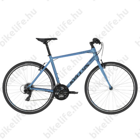 Kellys Physio 10 Blue fitness kerékpár 3x7 fokozartú Shimano TY 510 váltó, M (52cm)