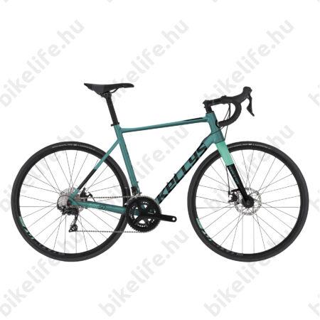 Kellys ARC 50 White/Red országúti kerékpár 22 fokozatú 105 váltó, mech. tárcsa alu váz+karbon villa, S