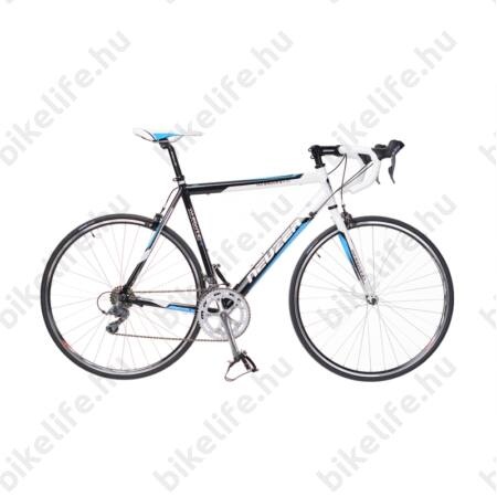 Neuzer Whirlwind 1.0 országúti kerékpár 16seb. Shimano Claris váltó, fehér/fekete/kék, 54cm