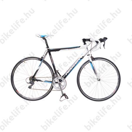 Neuzer Whirlwind 1.0 '14 országúti kerékpár 16seb. Shimano Claris váltó, fehér/fekete/kék, 52cm