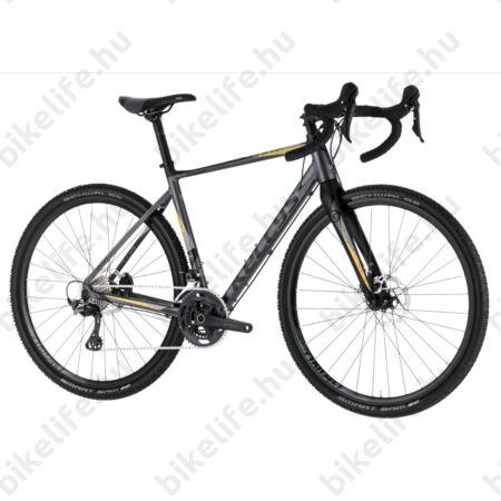 Kellys SOOT 50 országúti gravel kerékpár 22 fokozatú Shimano GRX váltó, hidraulikus tárcsafék S
