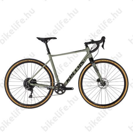Kellys SOOT 70 országúti gravel kerékpár 22 fokozatú Shimano GRX 600 váltó, hidraulikus Disc M
