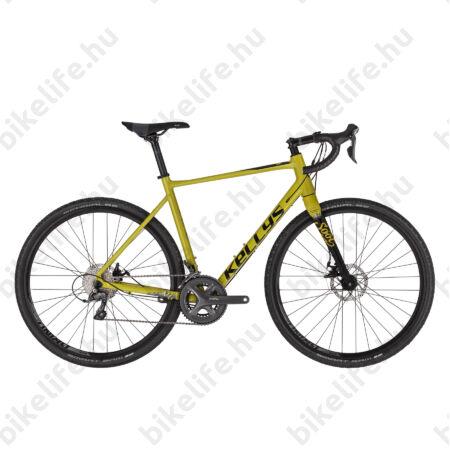 Kellys SOOT 30 országúti gravel kerékpár 16 fokozatú Shimano Claris váltó, mechanikus tárcsafék L