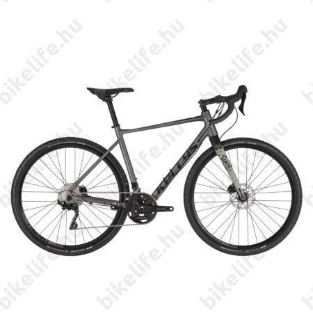 Kellys SOOT 50 országúti gravel kerékpár 20 fokozatú Shimano GRX 400 váltó, hidraulikus Disc L